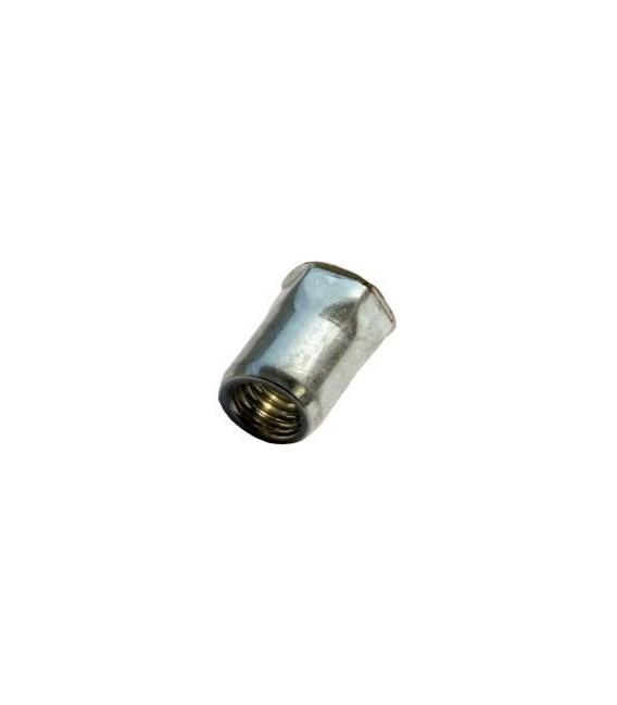 Заклепка M5*14 мм из стали с внутренней резьбой, уменьшенный бортик, полушестигранная
