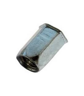 Заклепка резьбовая М8*18 мм шестигранная (нержавеющая сталь)