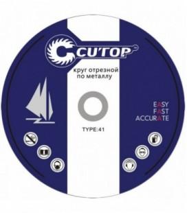 Круг отрезной по металлу Cutop Profi T41 125x1,0x22,2 мм