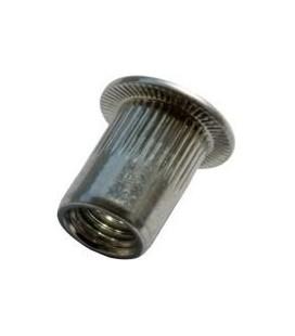 Заклепка резьбовая алюминиевая 02AL01F04010 M4*10 мм